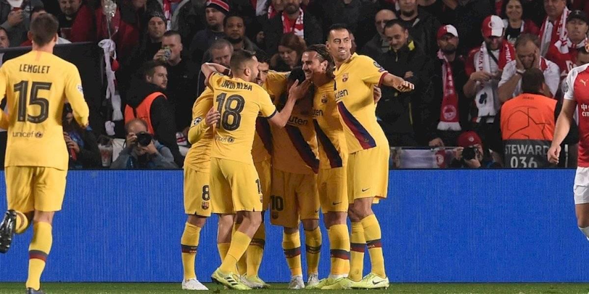 El Barcelona sufre para vencer Slavia de Praga, pero da un gran paso en la Champions