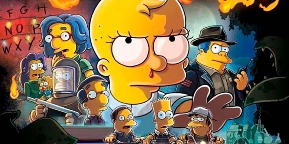 Los Simpson rinden tributo a Stranger Things y La Forma del Agua en episodio 666
