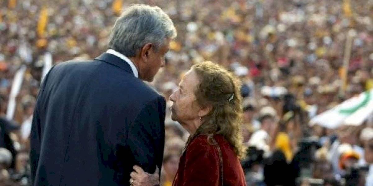 Haré todo lo humanamente posible: AMLO a encomienda de Rosario Ibarra