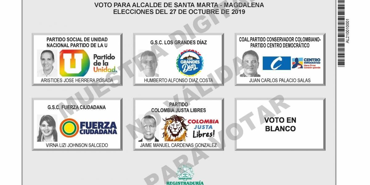 Siga en vivo las elecciones a la Alcaldía de Santa Marta