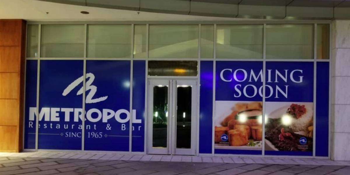 Abre Metropol en The Mall of San Juan