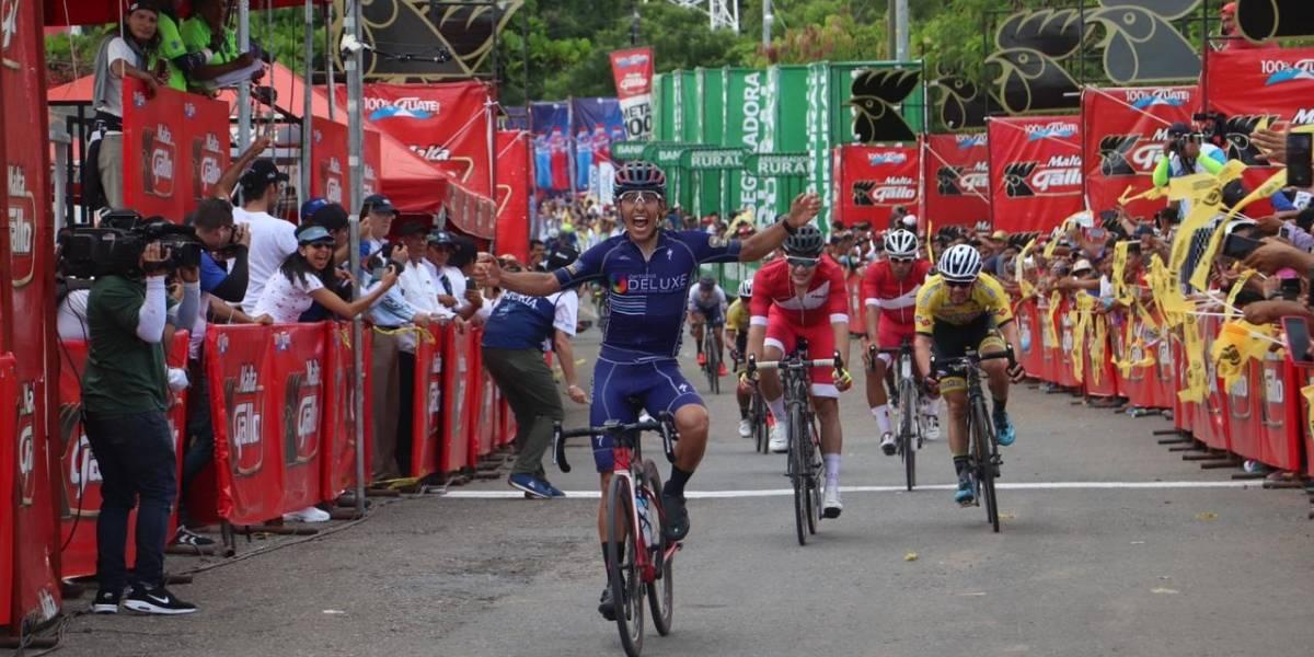 VIDEO. Julio Padilla conquista la primera etapa para Guatemala