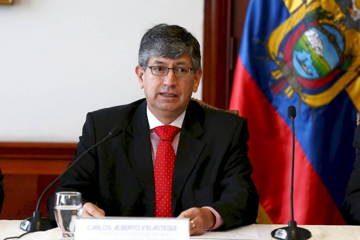 Viceministro de Movilidad Humana, Carlos Alberto Velástegui.