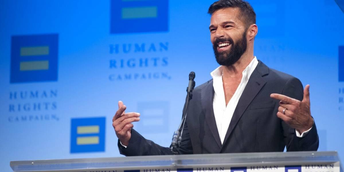 Actriz mexicana publica foto de un joven Ricky Martin cuando estaba en los comienzos de su carrera
