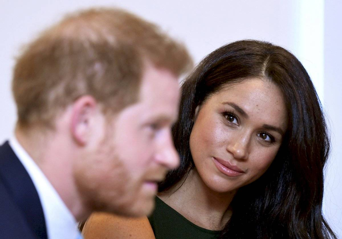 Meghan Markle y Harry AP