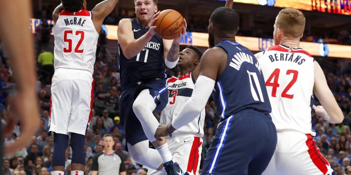 Mavericks se estrenan con una victoria en la nueva temporada NBA