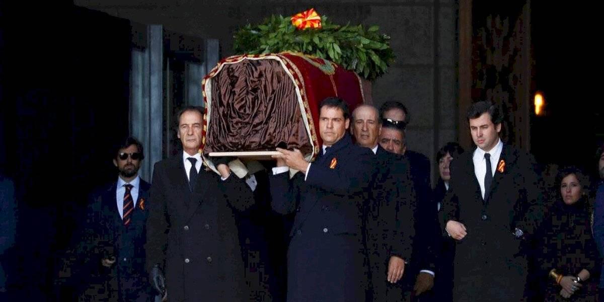 España completa exhumación del dictador Francisco Franco