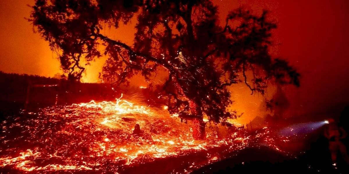Crece incendio en el norte de California