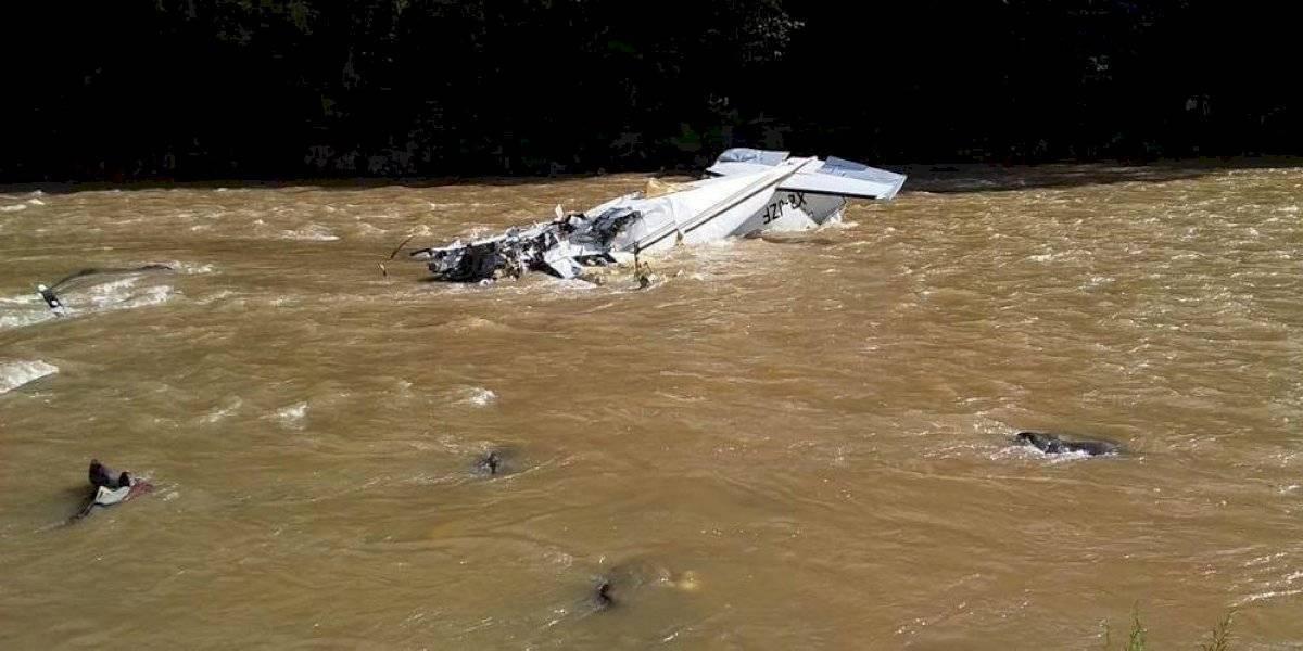 VIDEO. Avioneta se estrella y deja cinco muertos en Michoacán, México