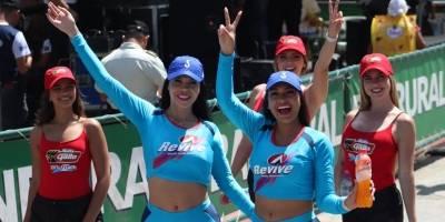 Edecanes Vuelta Ciclística a Guatemala 2019