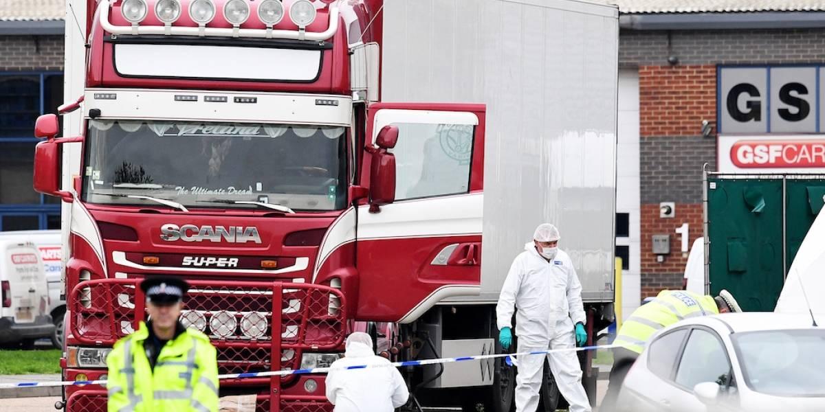 39 personas encontradas muertas dentro de un camión eran chinas