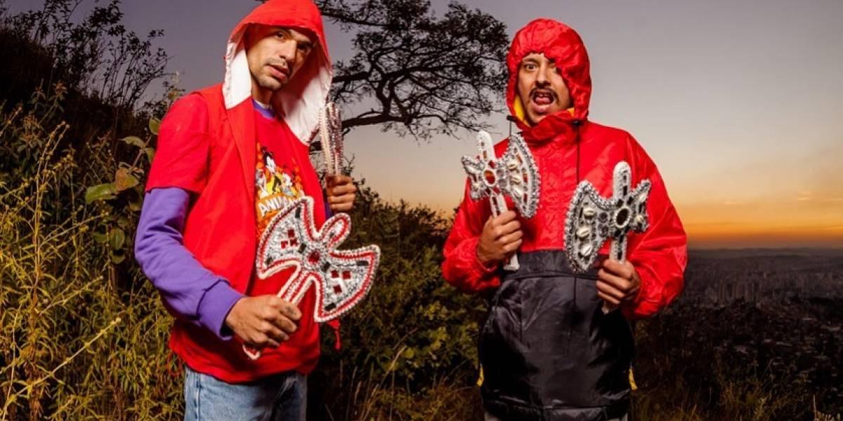 Duo de rap Hot e Oreia se apresentam no Centro Cultural Rio Verde