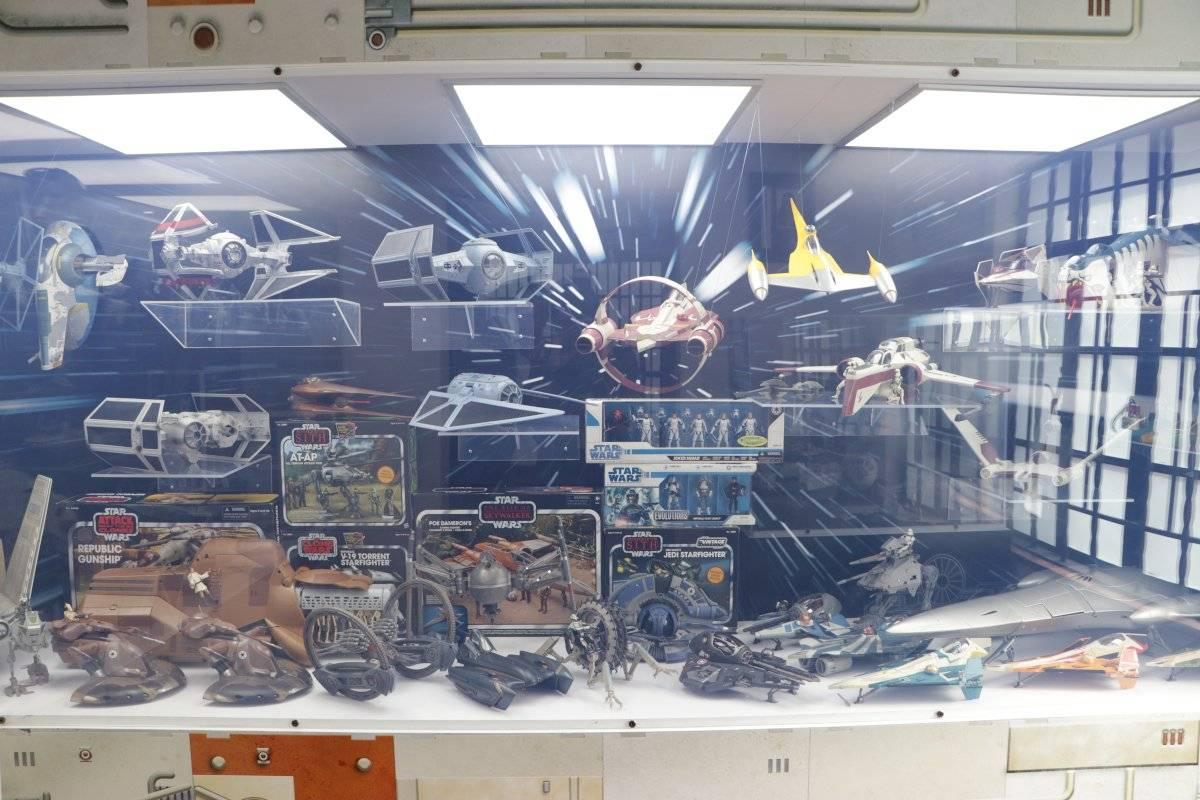 Naves de todas las eras de Star Wars Foto de Axel Amézquira