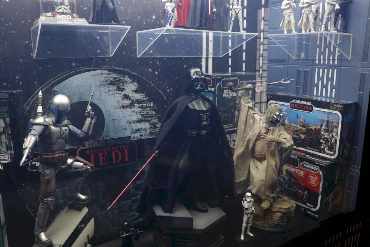 El gran villano Darth Vader Foto de Axel Amézquita