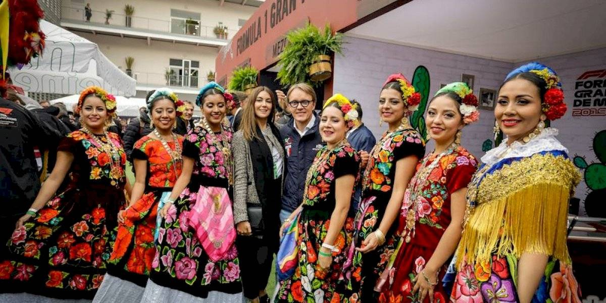 El Gran Premio de México se pinta de colores oaxaqueños