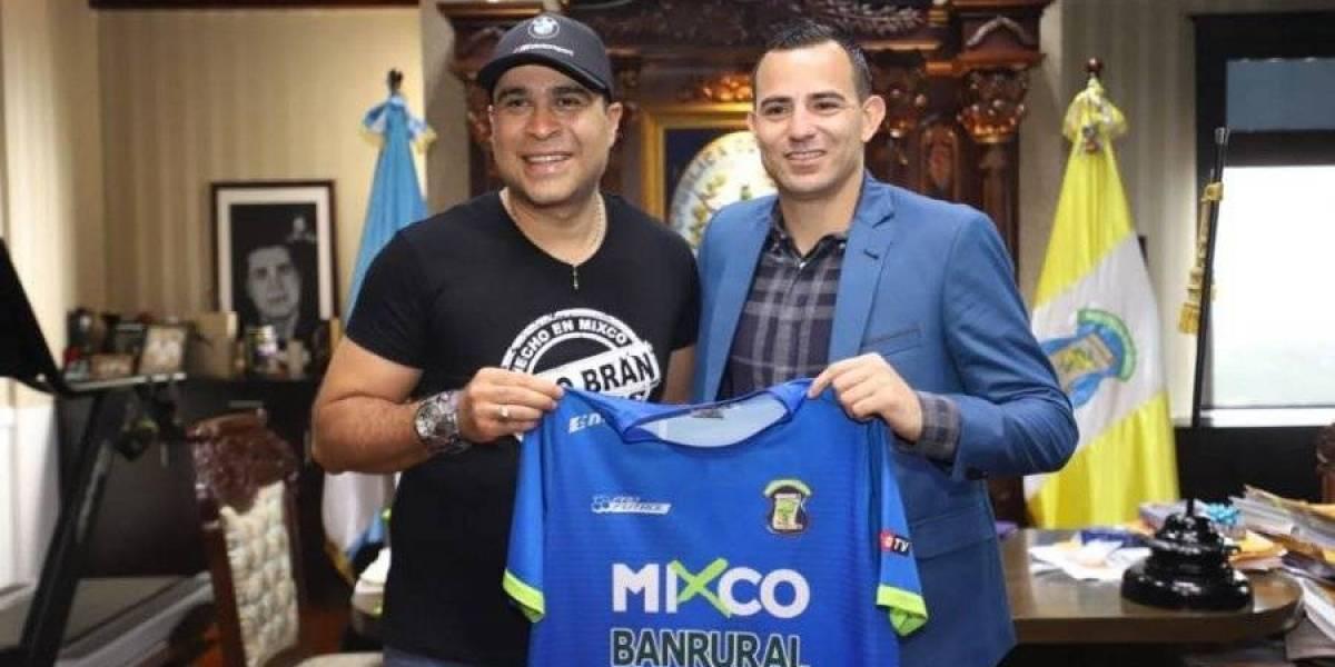 Pappa estaría quedó al margen del Deportivo Mixco
