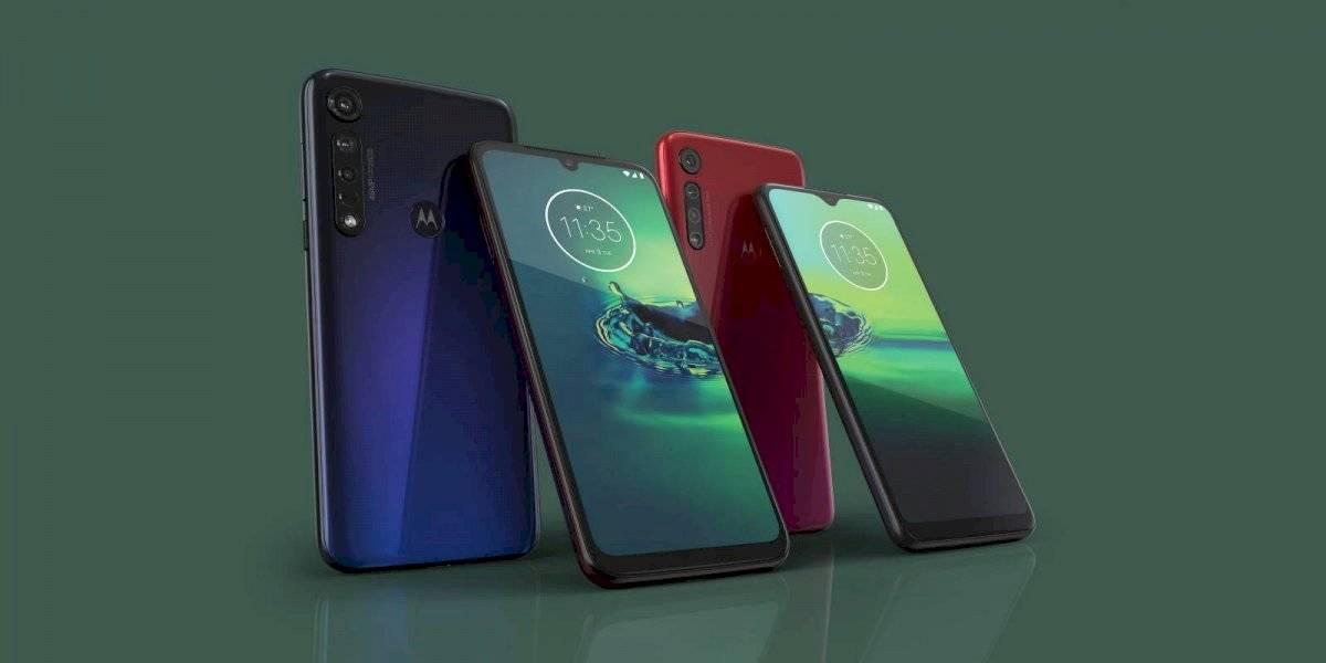 ¡Muchas cámaras! Motorola presenta el nuevo Moto G8 Plus