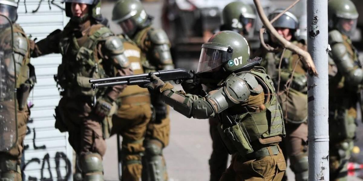 Los reales riesgos de los rifles a balines, como los que usan las policías chilenas