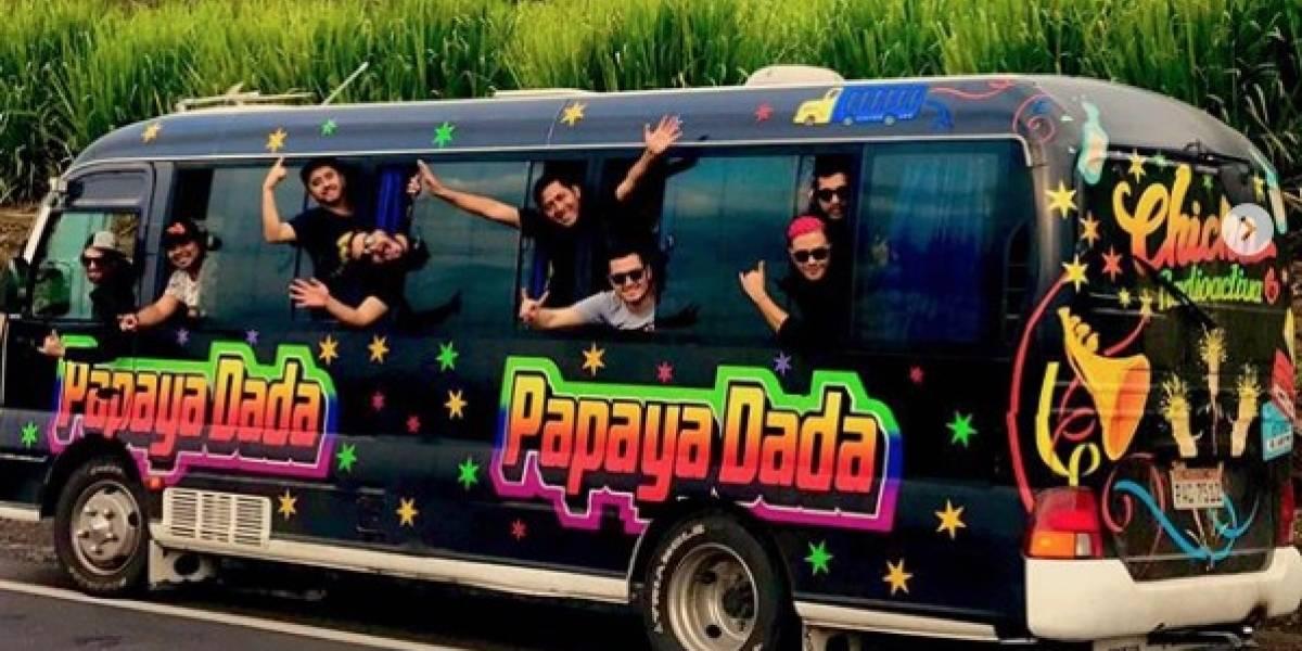 Papaya Dada presenta nuevo tema con una fiesta llena de cumbia