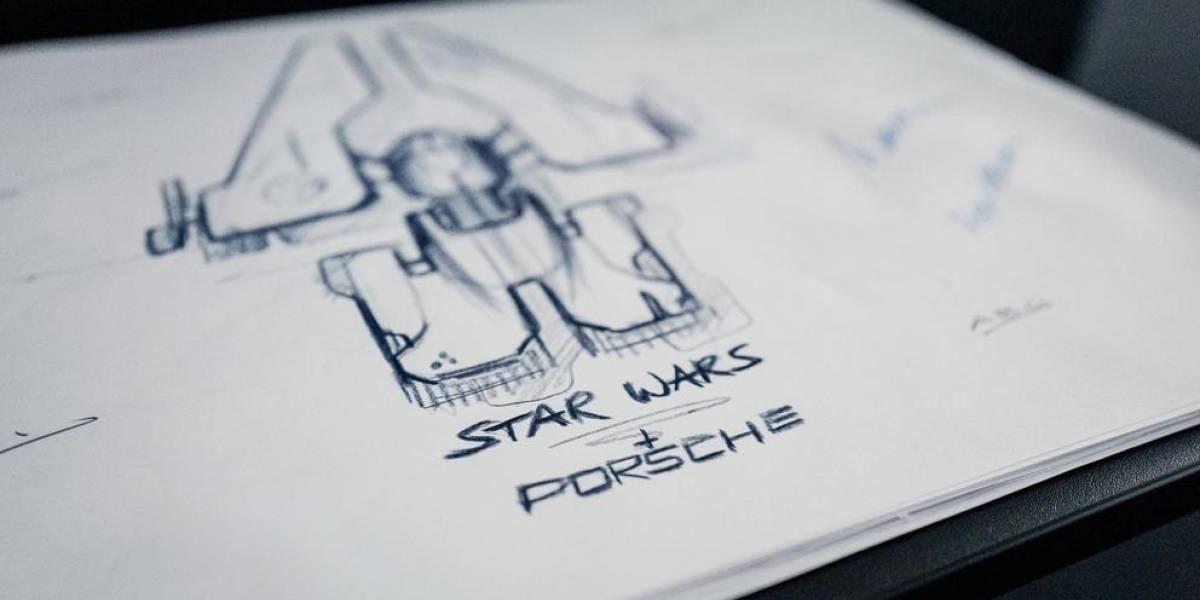 La nave espacial de Star Wars es diseñada por Porsche AG y Lucasfilm