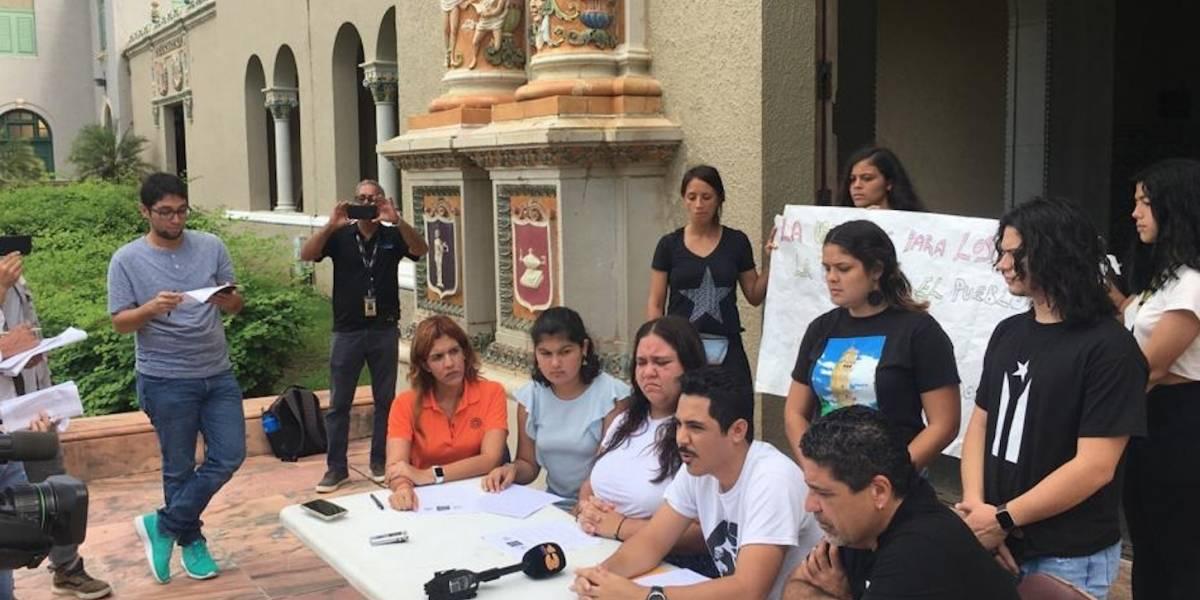 Estudiantes y profesores se unen en defensa de la UPR