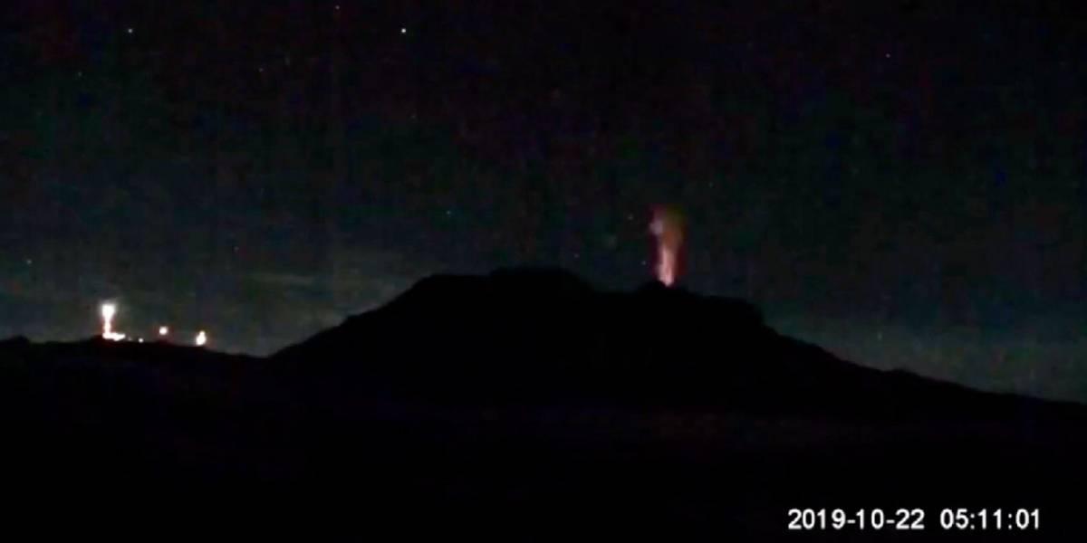 Ya no fue el Popocatépetl: Ahora fue el volcán Iztaccíhuatl quien tuvo una explosión
