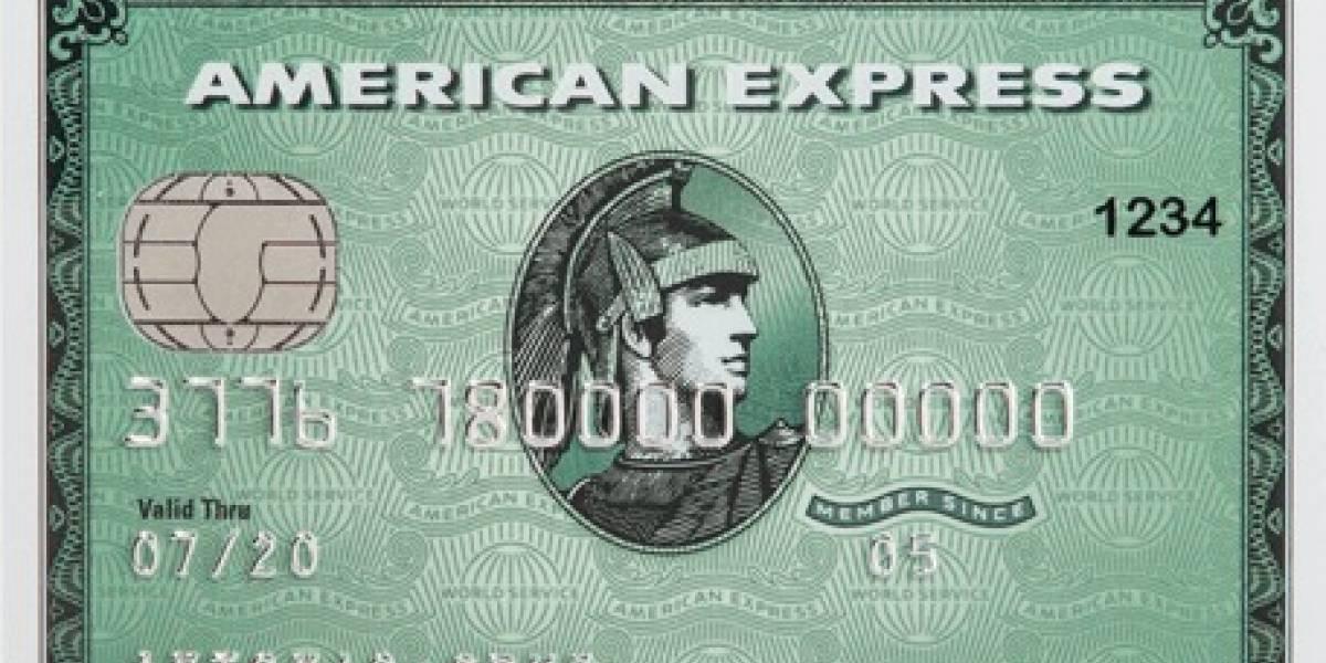La icónica tarjeta verde de American Express cumple 50 años