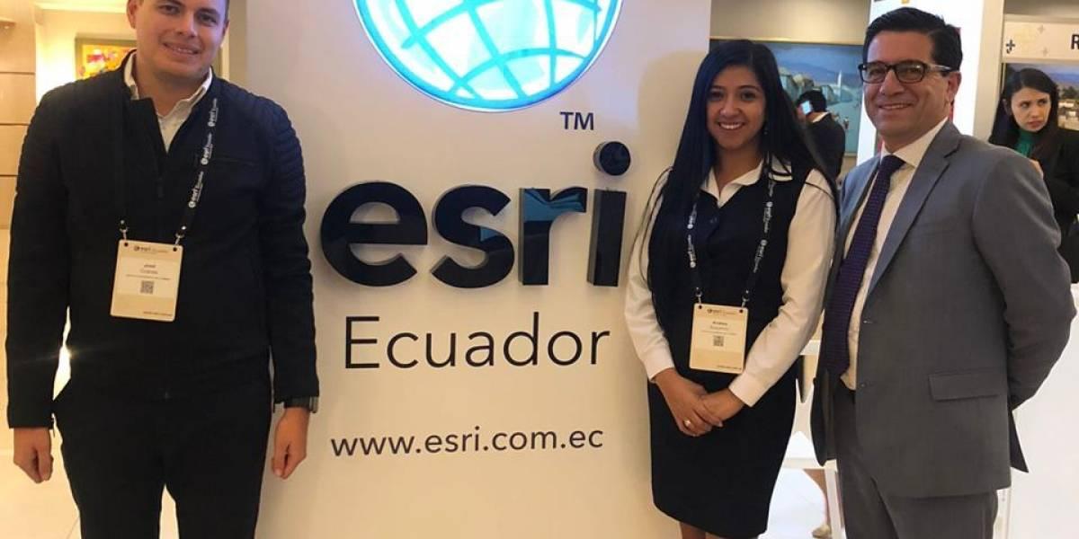 Este 24 y 25 de octubre se lleva a cabo la Conferencia Ecuatoriana de Usuarios ESRI