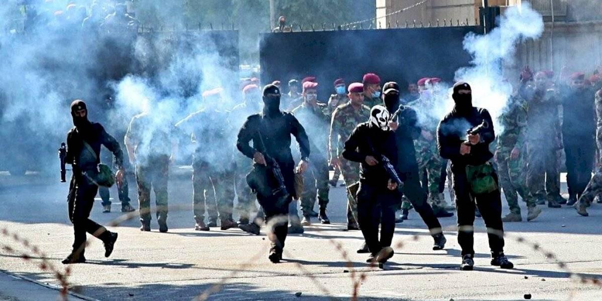 Manifestaciones antigubernamentales en Irak dejan 23 muertos