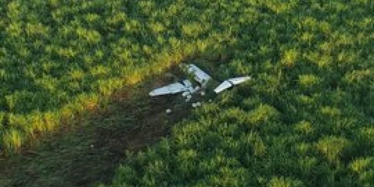 Avioneta con posibles ilícitos se accidenta en Escuintla