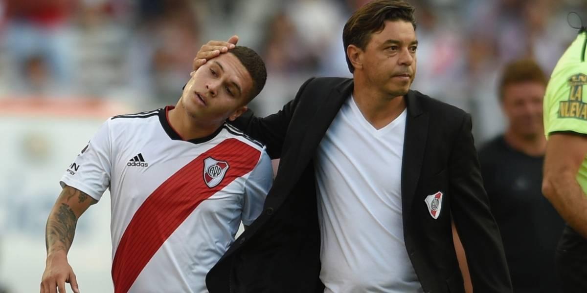 Marcelo Gallardo explicó por qué Juan Fernando Quintero no jugó contra Boca Juniors
