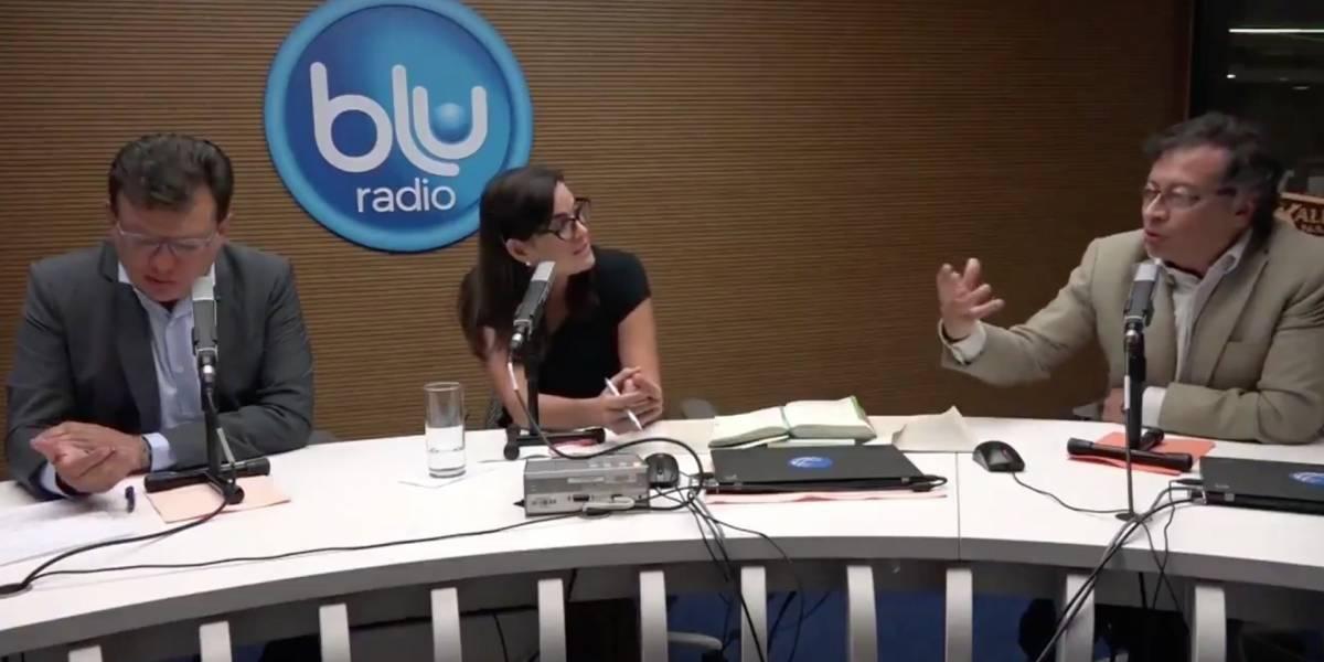 La peinada de Gustavo Petro a Vanessa de la Torre que encendió las redes
