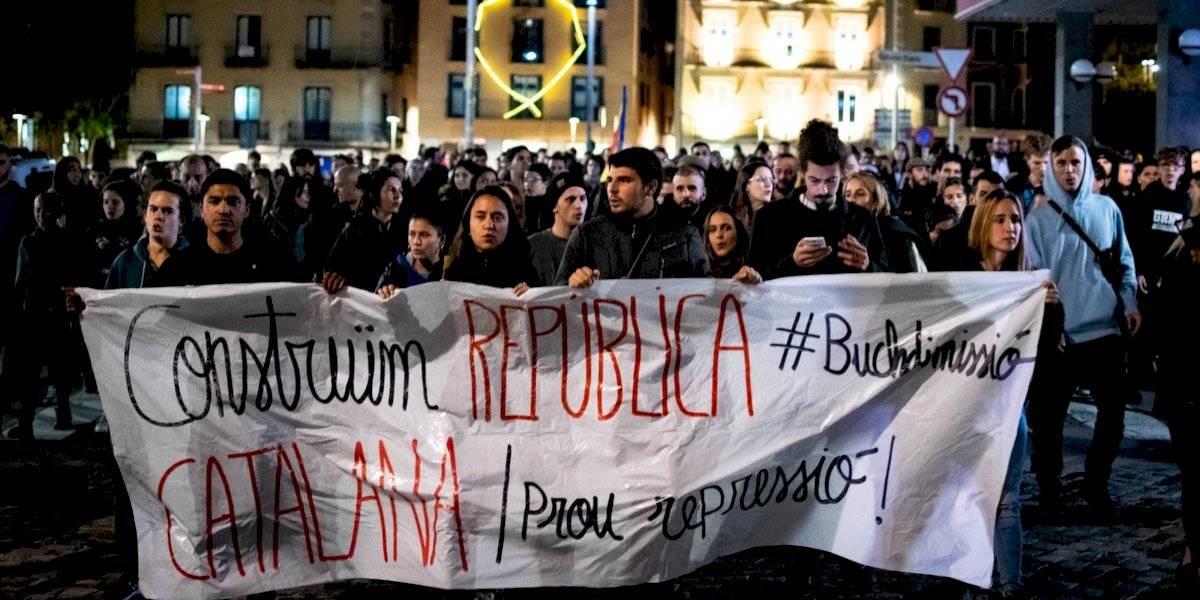 Cerca de 300 policías heridos en los disturbios en Cataluña