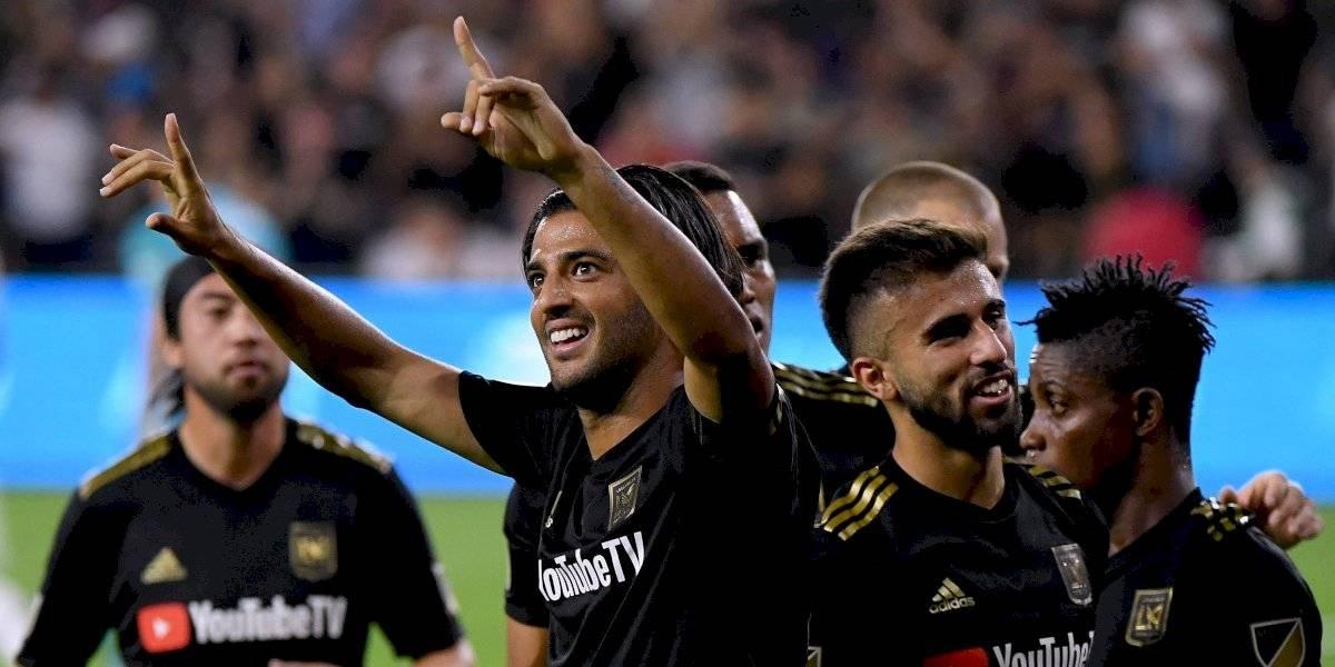 Con doblete de Vela, LAFC elimina al Galaxy y va a la final del Oeste