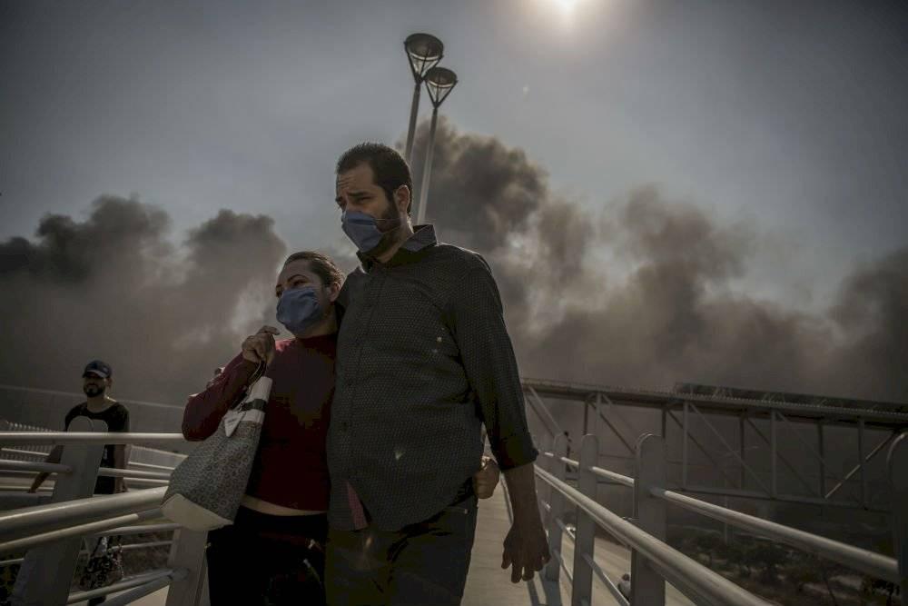 Incendios en Baja California