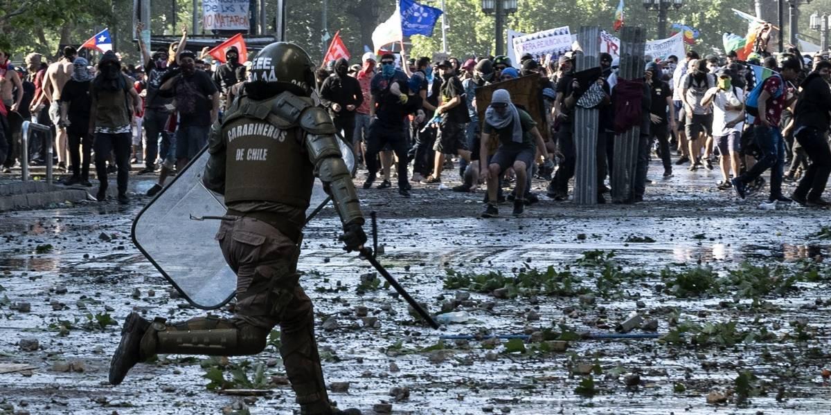 Una semana frenética que sumió a Chile en una grave crisis social