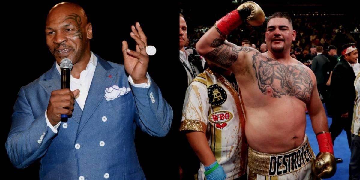 Mike Tyson sugiere a Andy Ruiz no bajar de peso