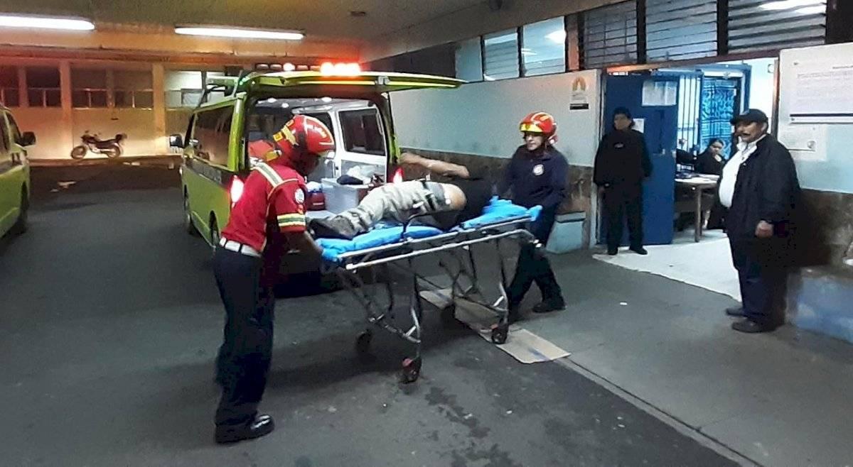 piloto de camión recolector atacado en zona 6