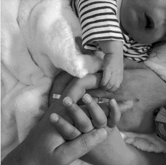 Rodrigo, bebé que nació con malformaciones