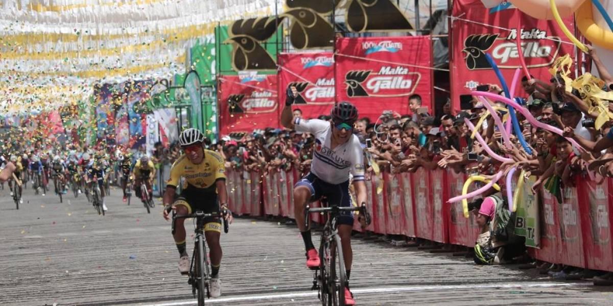 El hondureño Luis López triunfa en Guastatoya y se adueña de la Vuelta Ciclística
