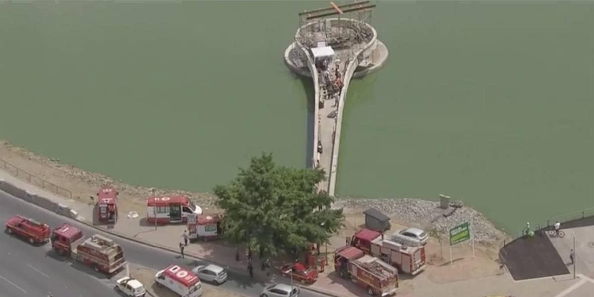 Explosão em obra na barragem da Pampulha, em BH, deixa feridos