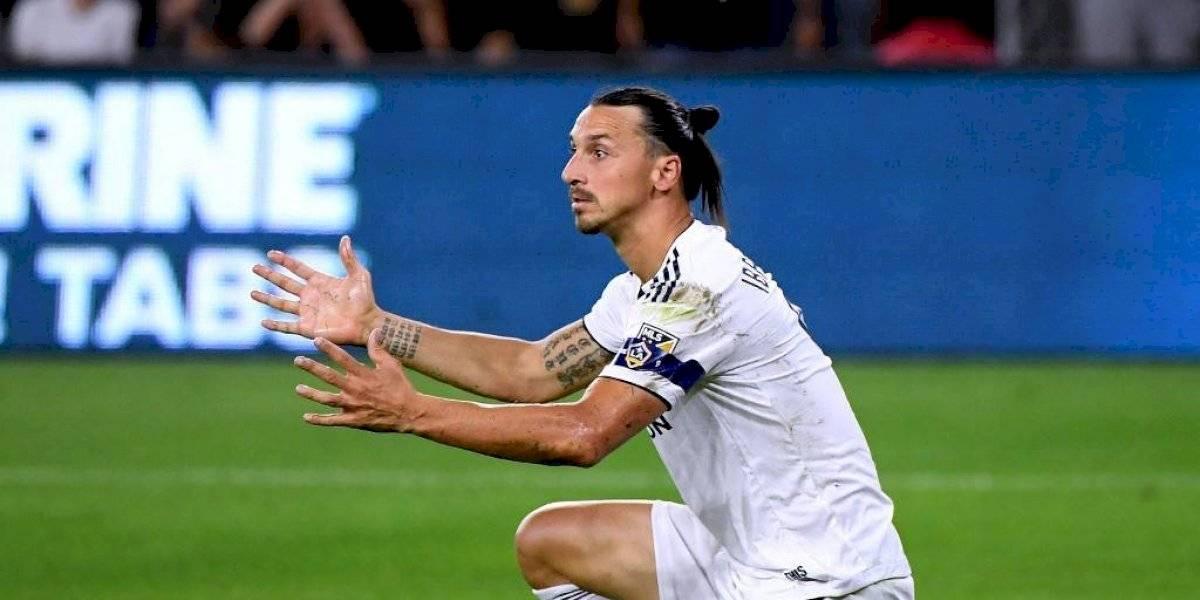 VIDEO. El provocador gesto de Zlatan Ibrahimovic con la afición de Los Ángeles