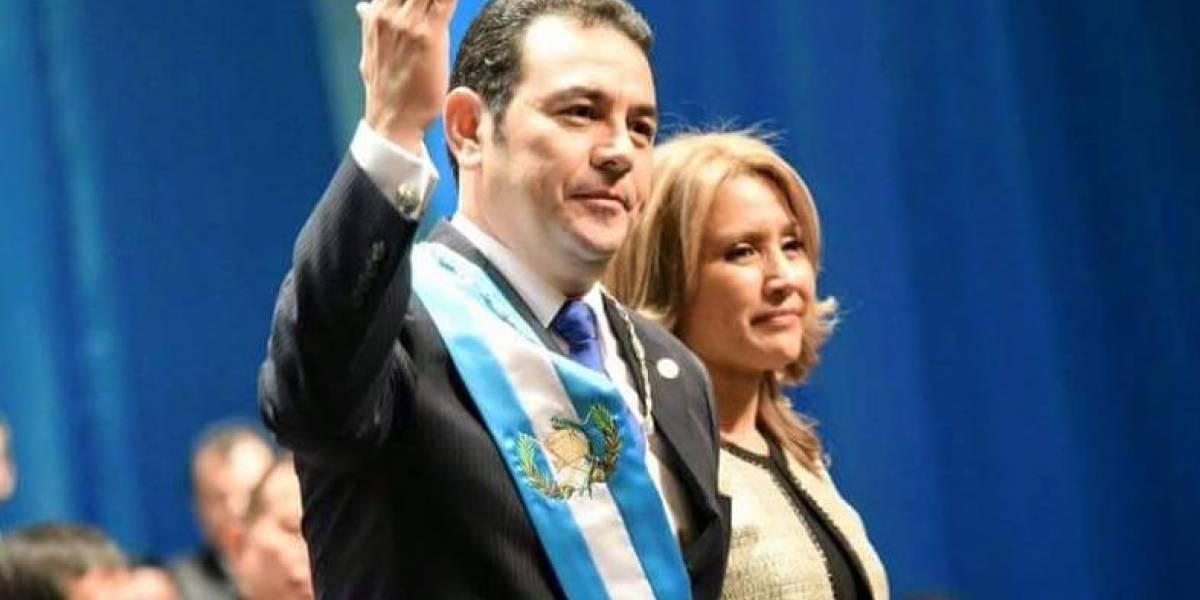 Jimmy Morales rememora el día en que se enteró que sería presidente