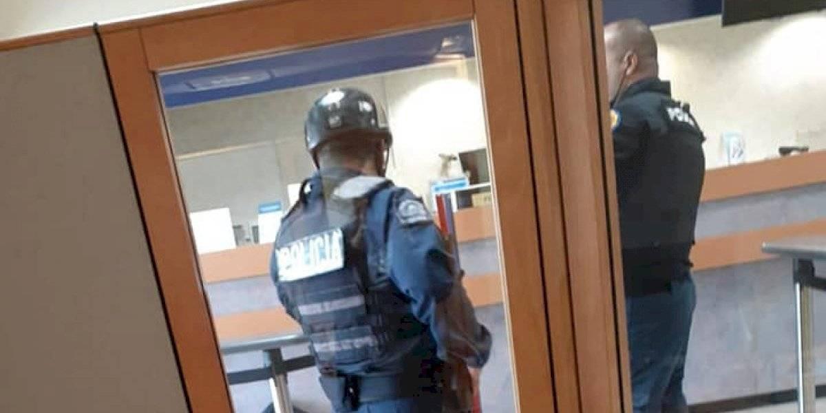 Arrestan viequense que trató de asaltar el Banco Popular de Luquillo