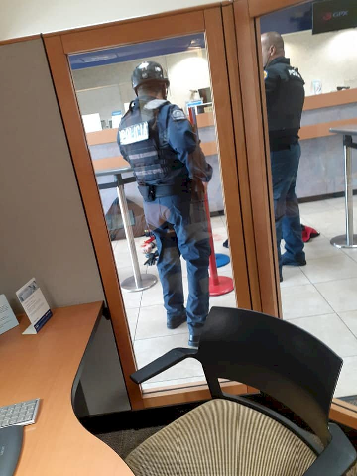 Intento de robo Banco Popular Trujillo Alto - 26 de octubre 2019
