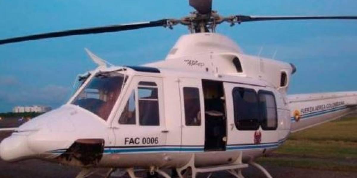 Fuerza Aérea sigue buscando helicóptero del que perdió rastro