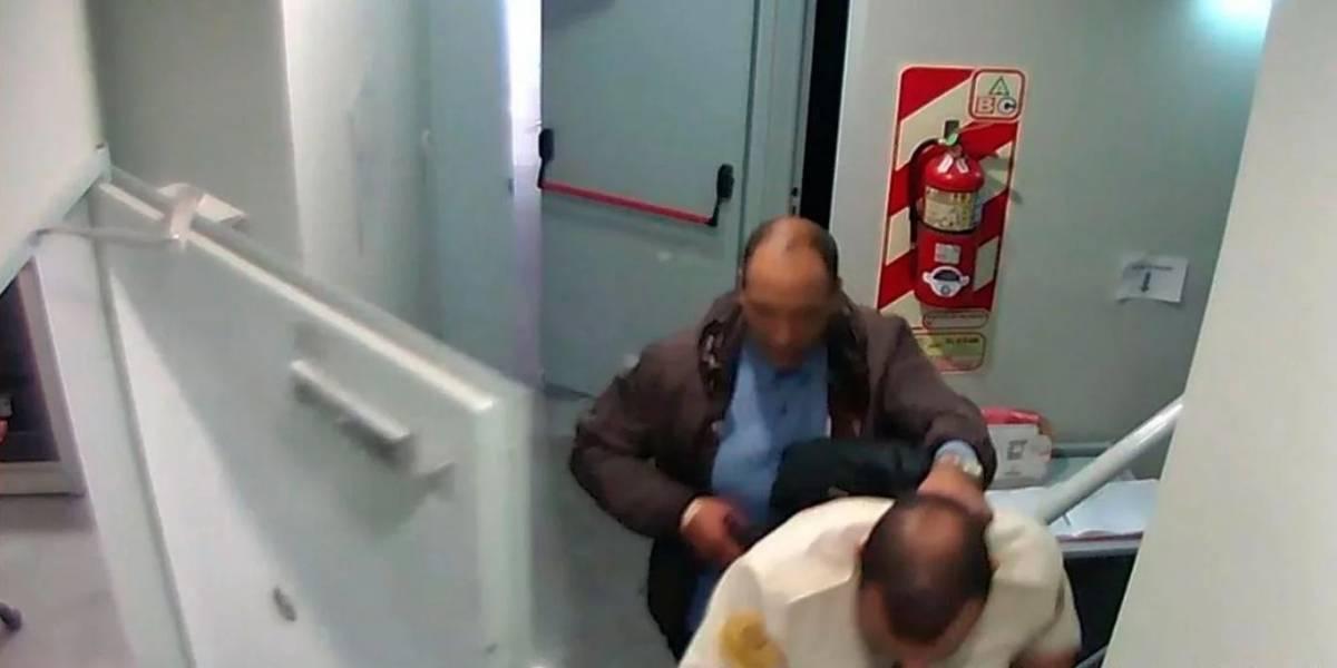 Hombre pidió permiso en el trabajo y se fue a robar un banco