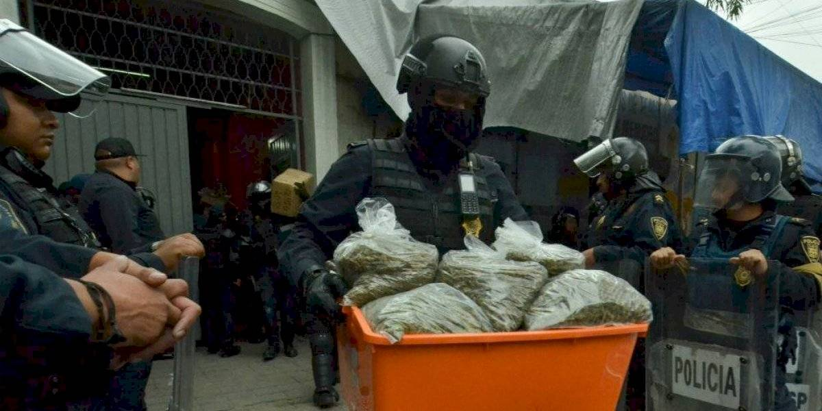 Detienen a 19 personas en 8 cateos realizados en la Cuauhtémoc