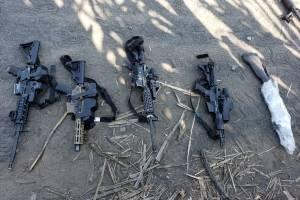 En el operativo se capturó a un elemento de las fuerzas castrenses por sustraer un teléfono satelital