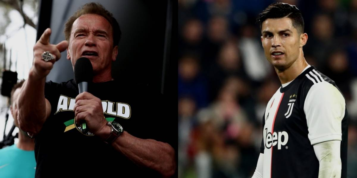 Arnold Schwarzenegger pone nuevo apodo a Cristiano Ronaldo